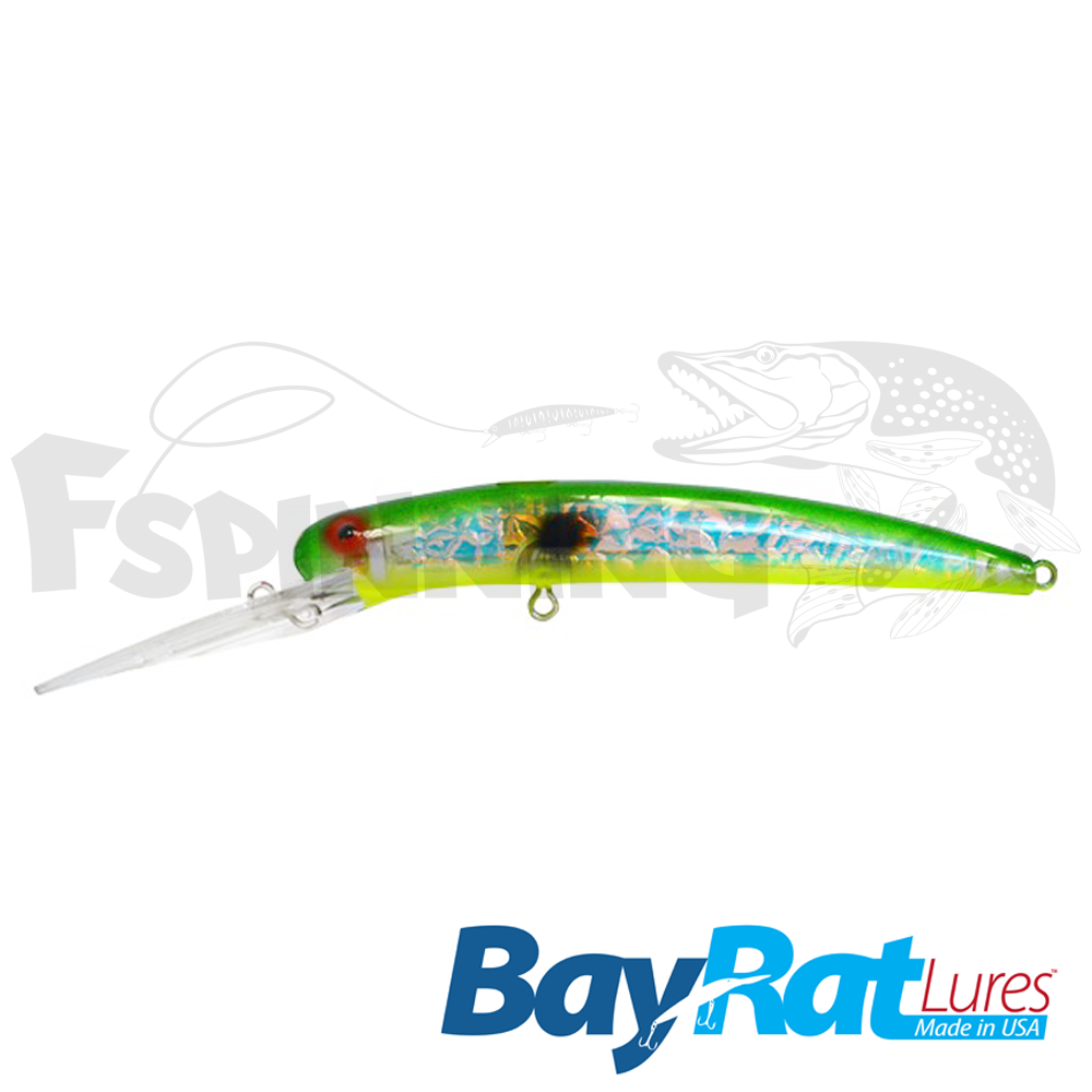 Long Extra Deep 100F Воблер Bay Rat Lures Long Extra Deep 100F 15.8gr #32 mary ann