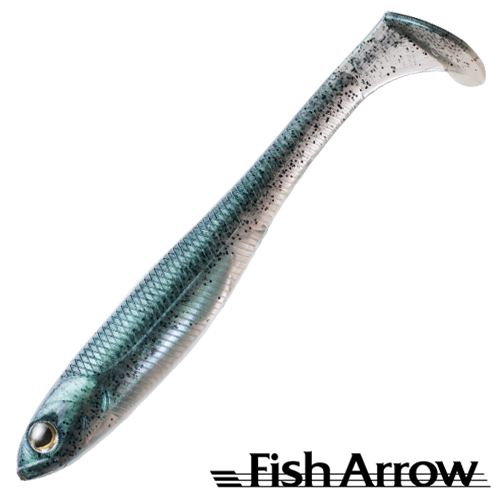 Fish Arrow Flash J Shad 4,5'' #03 Neon Green/Silver (5 шт в уп)