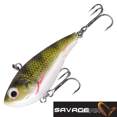 TPE Soft Vibes 66S Воблер Savage Gear TPE Soft Vibes 66S 22gr #04-Perch