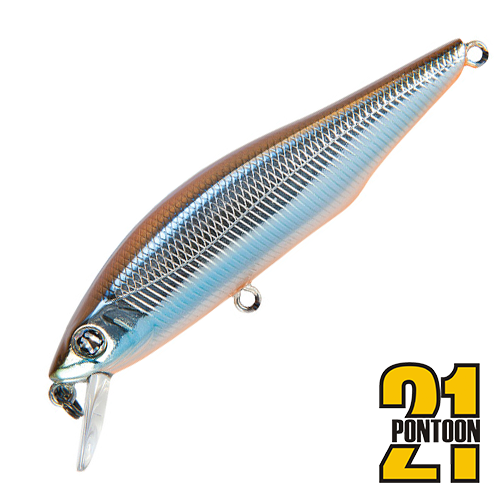 Воблер Pontoon21 Cheeky 68F-SR 5,1gr #154