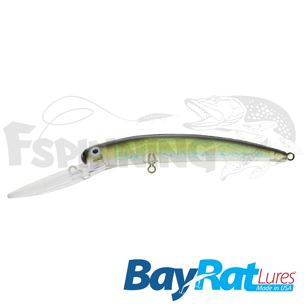 Long Extra Deep 100F Воблер Bay Rat Lures Long Extra Deep 100F 15.8gr #46 ridin dirty
