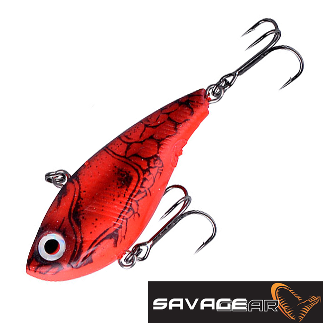 TPE Soft Vibes 66S Воблер Savage Gear TPE Soft Vibes 66S 22gr #07-Red Crayfish
