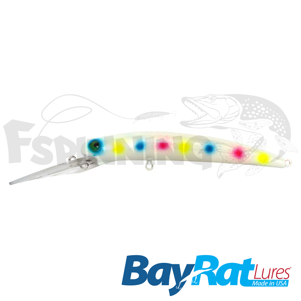 Long Extra Deep 100F Воблер Bay Rat Lures Long Extra Deep 100F 15.8gr #52 wonderbread