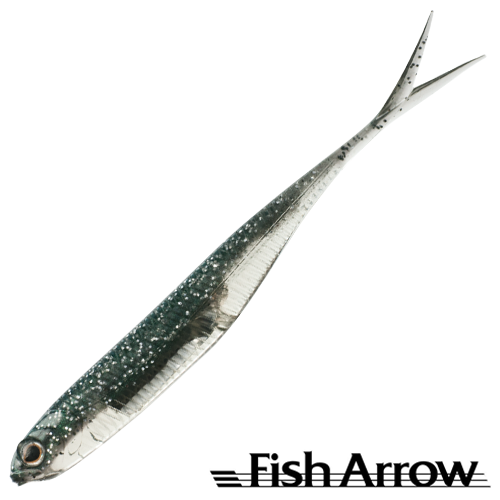 Fish Arrow Flash J Split 4'' SW #112 Inakko/Silver (5 шт в уп)
