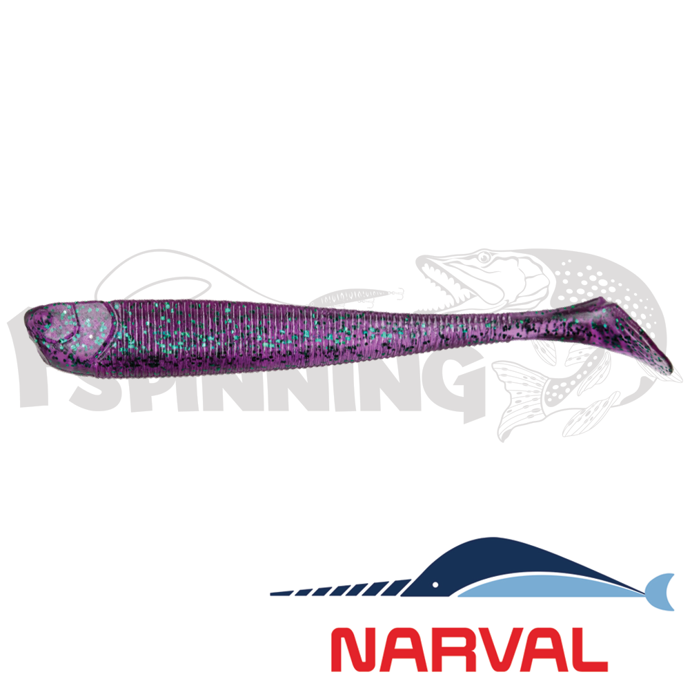 Slim Minnow 90mm Мягкие приманки Narval Slim Minnow 90mm #017 Violetta (6шт в уп)