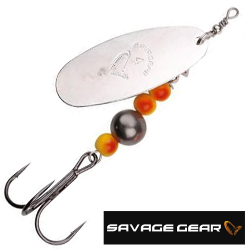 Caviar Spinner #3 Блесна вертушка Savage Gear Caviar Spinner #3 9,5gr #01