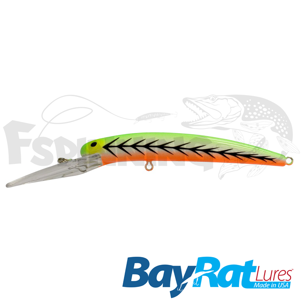 Long Extra Deep 100F Воблер Bay Rat Lures Long Extra Deep 100F 15.8gr #30 loud tiger