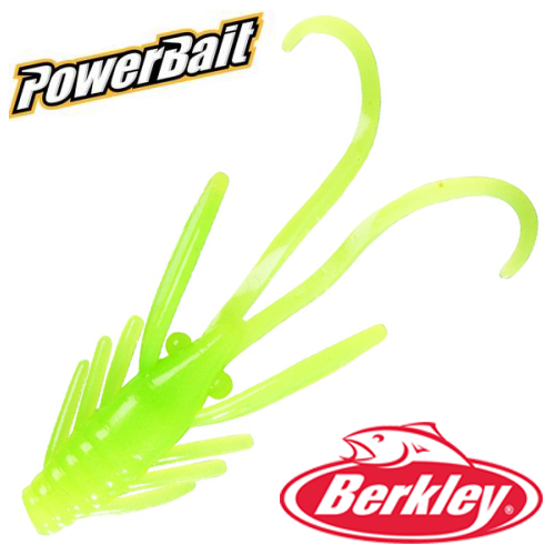 Мягкие приманки Berkley PowerBait Power Nymph 1'' #Green Chartreuse (12шт в уп)