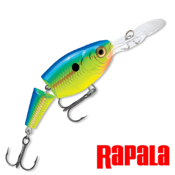 Jointed Shad Rap JSR05 Воблер RapaIa Jointed Shad Rap #JSR05-PRT