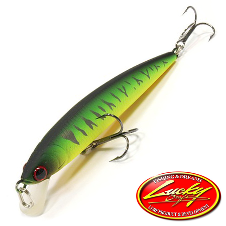 Воблер Lucky Craft Flash Minnow 80SP 5,3gr #0808 Mat Tiger 914