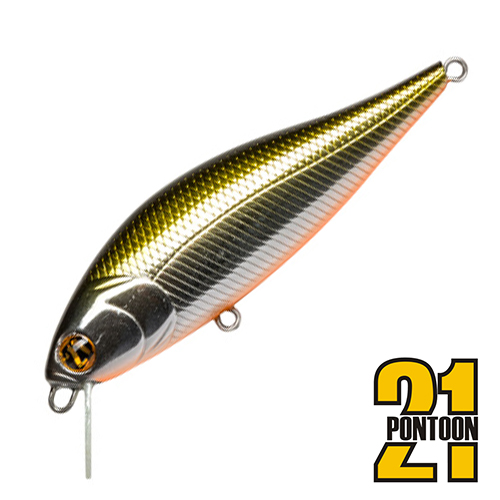 Bet-A-Shiner 82F-SR Воблер Pontoon 21 Bet-A-Shiner 82F-SR 11,7gr #R60