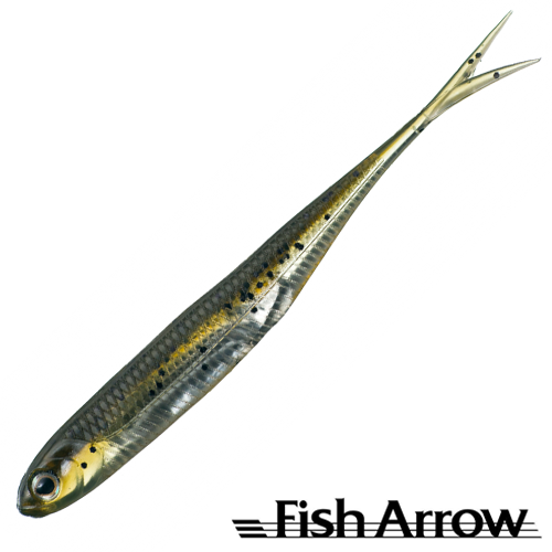 Fish Arrow Flash J Split 4'' #02 Wm/Silver (5шт в уп)
