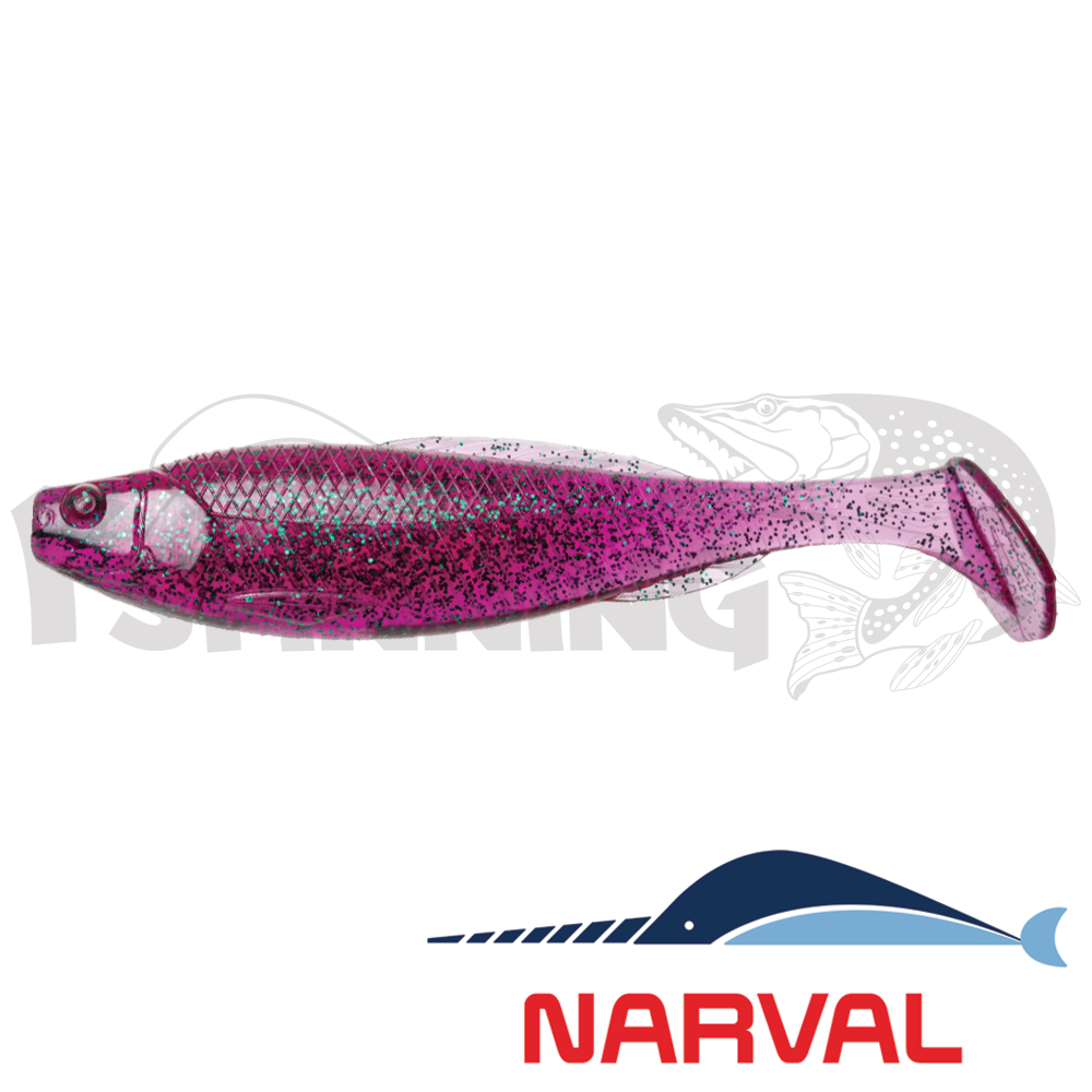 Troublemaker 120mm Мягкие приманки Narval Troublemaker 12sm #017 Violetta (4 шт в уп)