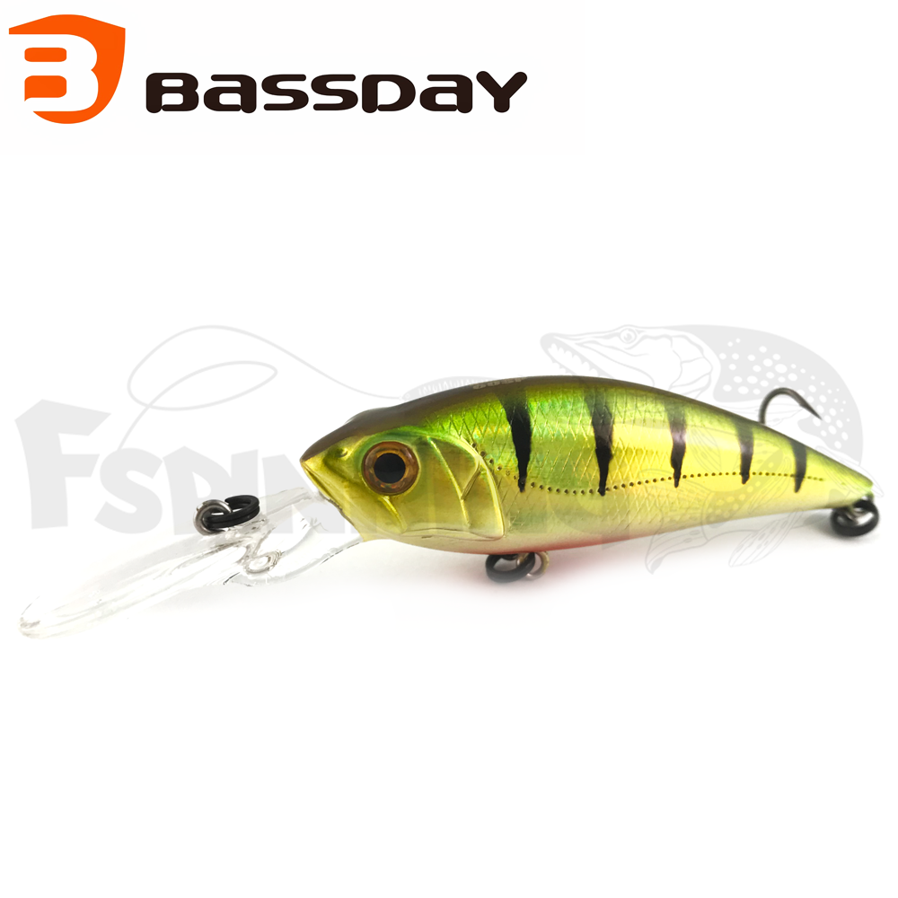 Mogul Shad 60SP Воблер Bassday Mogul Shad 60SP 7gr #H-33 Perch