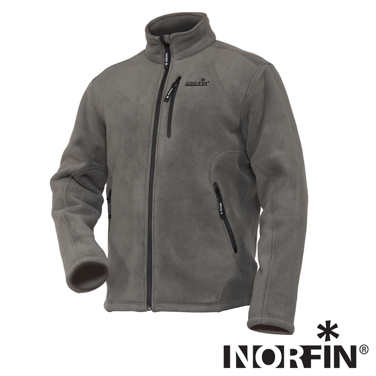 North Grey Куртка флисовая Nirfin North Grey 02 р.M