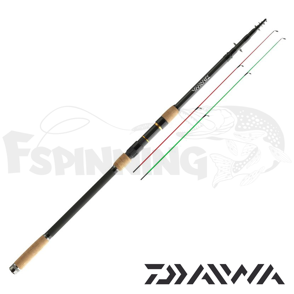 Black Widow Feeder Фидер Daiwa Black Widow Tele Feeder 3.9m/100gr BWF390TMHQ-AD