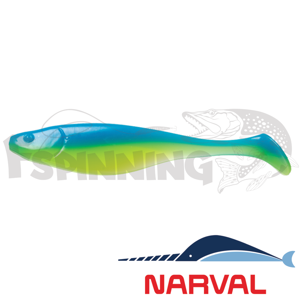 Commander Shad 140mm Мягкие приманки Narval Commander Shad 14sm #016 Blue Mint (3 шт в уп)
