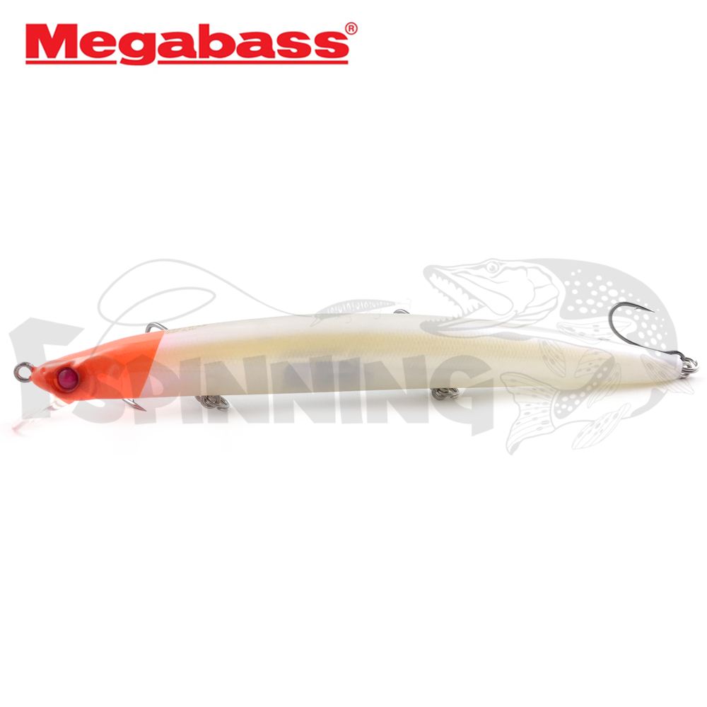X-140 SW Воблер Megabass X-140 SW 19,5gr #PM Moon Read Head (JM)