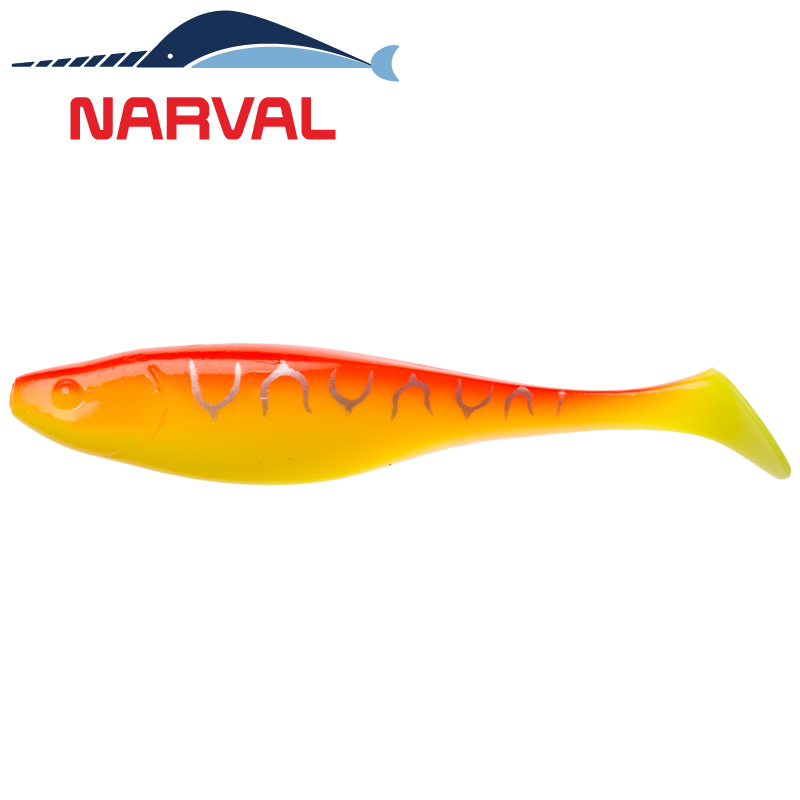 Commander Shad 140mm Мягкие приманки Narval Commander Shad 14sm #009 Sunset Tiger (3 шт в уп)