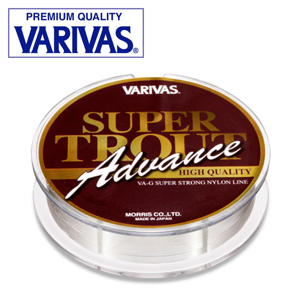 Super Trout Advance High Quality 100m Монолеска Varivas Super Trout Advance High Quality 100m 2Lb 0,104mm/0,96kg