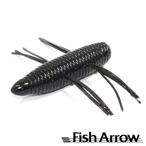 AirBag Bug 2'' Мягкие приманки Fish Arrow AirBag Bug 2'' #07 Black/Bllue (6 шт в уп)
