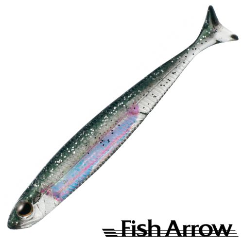 Мягкие приманки Fish Arrow Flash J Huddle 3'' #32 S Ketabasu/Aurora (7 шт в уп)
