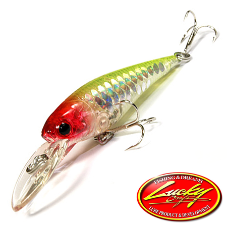 Воблер Lucky Craft Bevy Shad 50F 3,2gr #5431 MS Crown 195