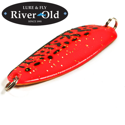 Блесна River Old Satellite Cherry Vespa III 18gr/52mm #011