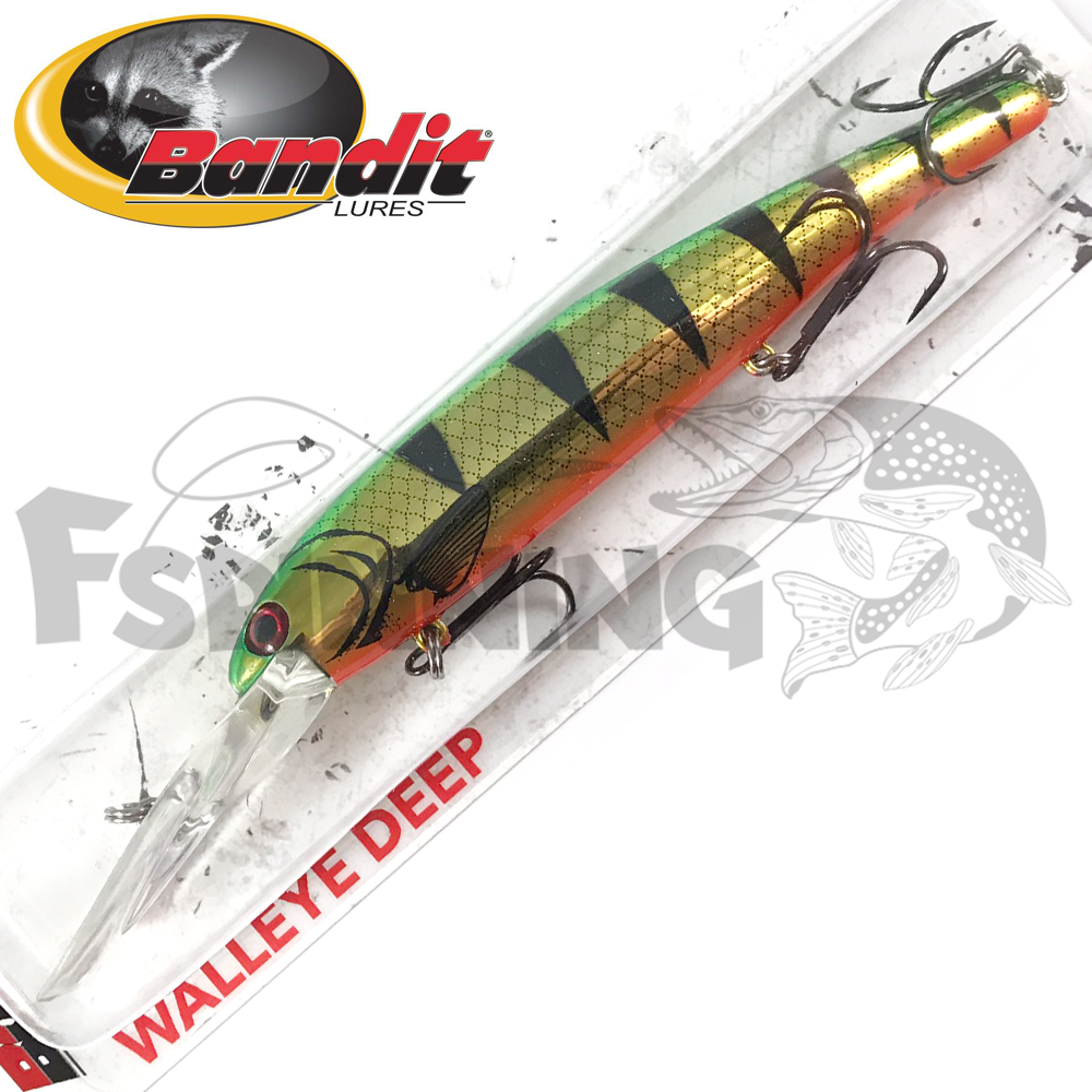 Walleye Deep Воблер Bandit Walleye Deep 17,7gr/8,1m #2D90 Golden Perch