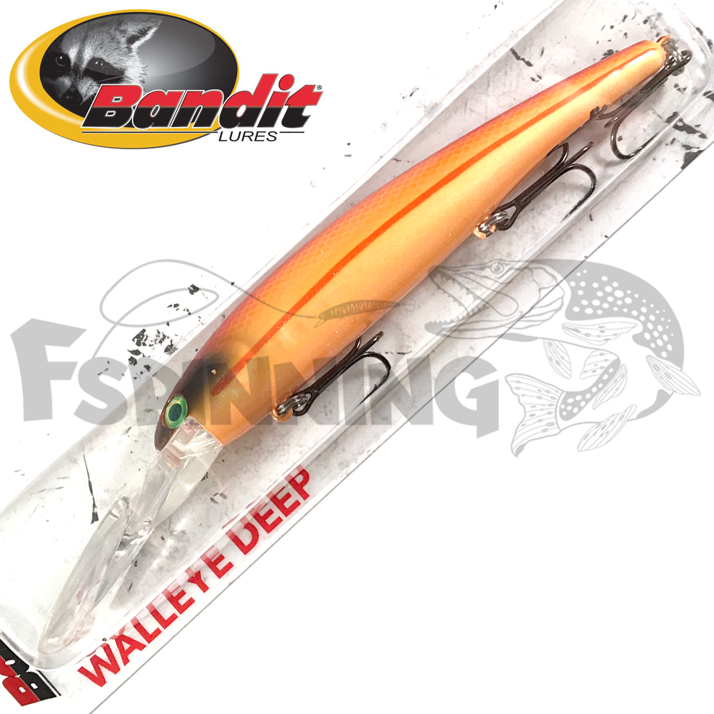 Walleye Deep Воблер Bandit Walleye Deep 17,7gr/8,1m #2D31 Org Crush