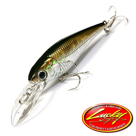 Воблер Lucky Craft Bevy Shad 60SP 4,8gr #277 MJ Aurora Brown