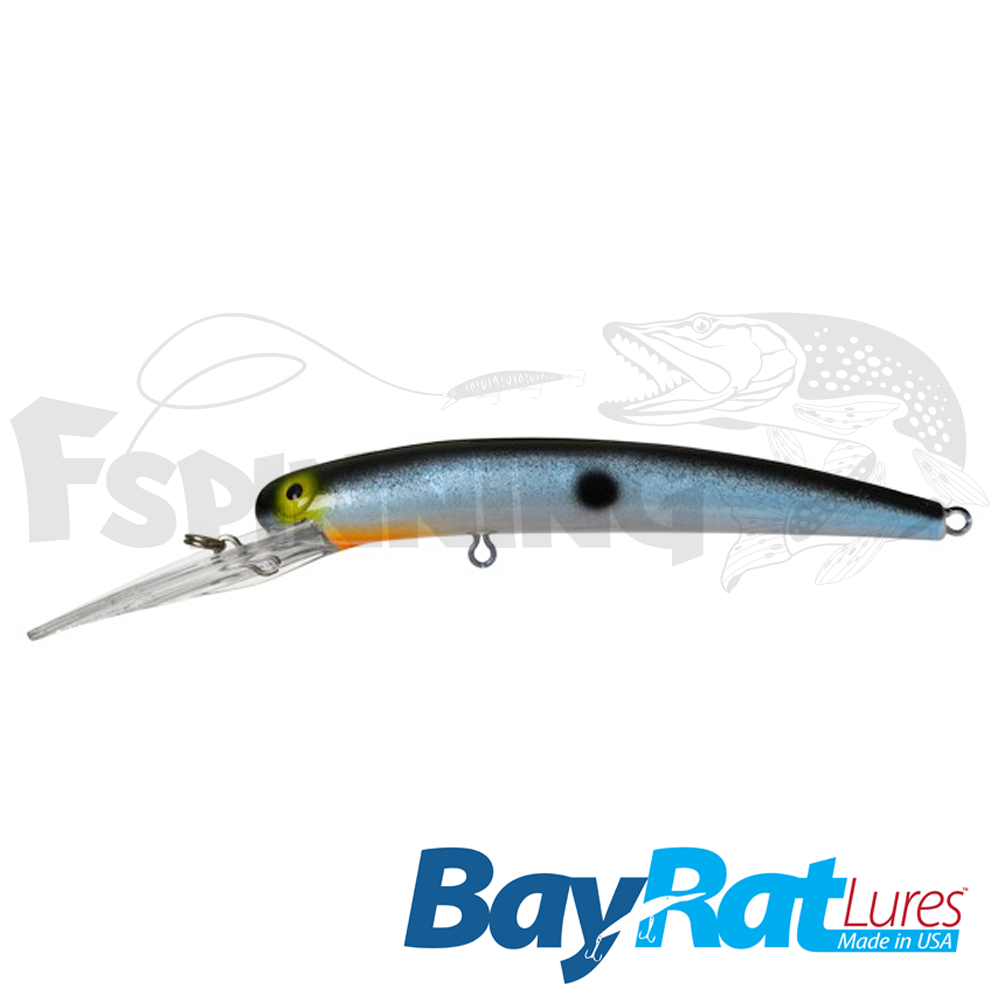 Long Extra Deep 100F Воблер Bay Rat Lures Long Extra Deep 100F 15.8gr #37 prussian blue