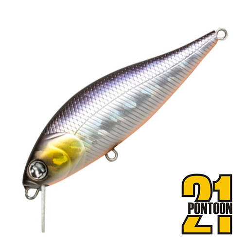 Bet-A-Shiner 82F-SR Воблер Pontoon 21 Bet-A-Shiner 82F-SR 11,7gr #A11