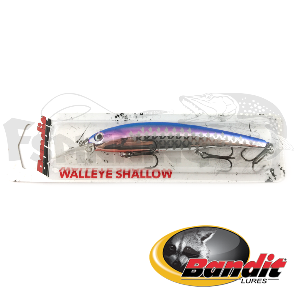 Walleye Shallow Воблер Bandit Walleye Shallow 17.5gr #B21