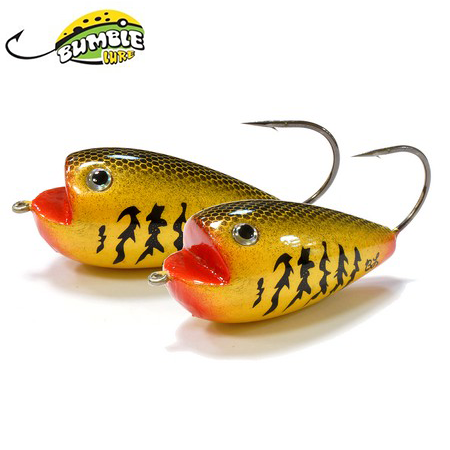 Глиссер Bumble Lure Frog F-9G Gold 9гр