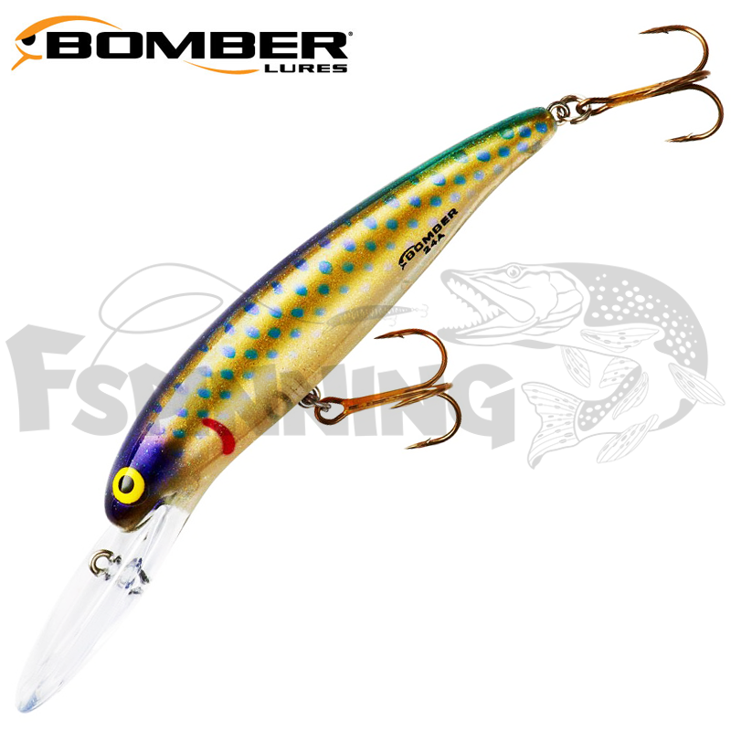 Deep Long B24A Воблер Bomber Deep Long 24A 10,6gr #428