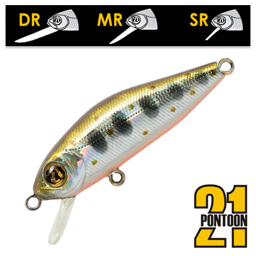 Воблер Pontoon21 Crackjack 48SP-DR 3,7gr #050