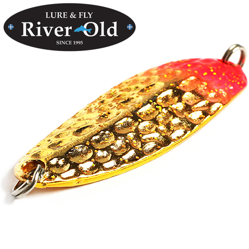 Блесна River Old Satellite Hammered Cherry Vespa II 14,2gr/52mm #003