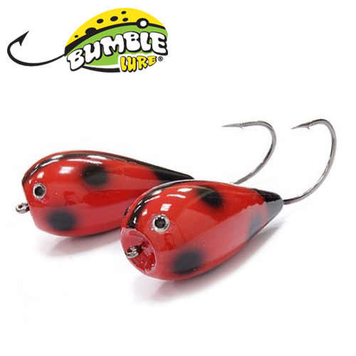 Глиссер Bumble Lure Killer Popper KP-15LB Lady Bug 15гр