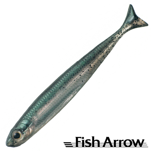 Мягкие приманки Fish Arrow Flash J Huddle 2'' #03 Neon Green/Silver (5 шт в уп)