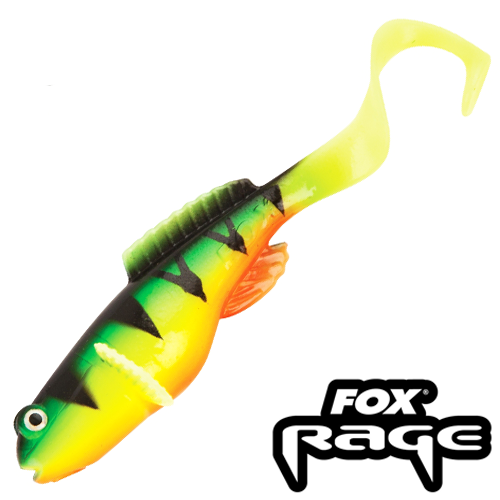 Rage Grondle Twist 4''/100mm #Firetiger (4шт в уп)
