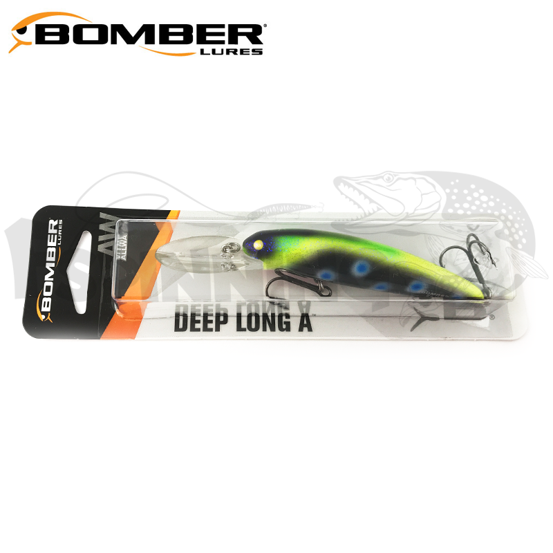 Deep Long B24A Воблер Bomber Deep Long 24A 10,6gr #466