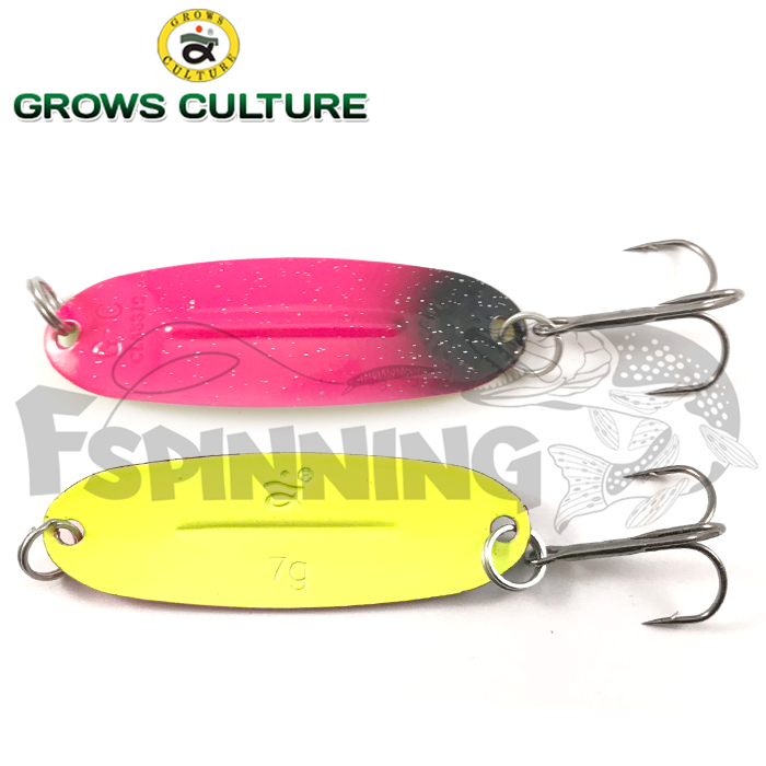 Блесна колебалка Grows Culture Jig Killer UV 7gr/57mm #046A