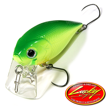 Воблер Lucky Craft Magnum Cra-Pea SR 6,2gr #0019 Lime Chart 302