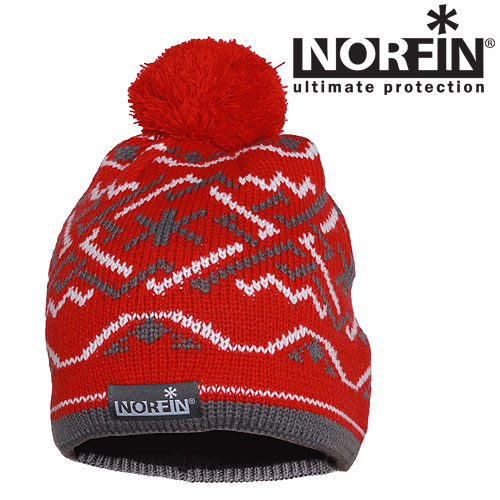Шапка Norfin Women Norway Red M