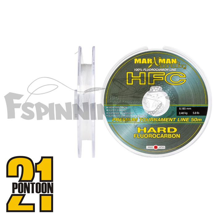 Флюкарбон Pontoon21 Marxman HFC 50m #0,33mm/7,6kg/16,5lb