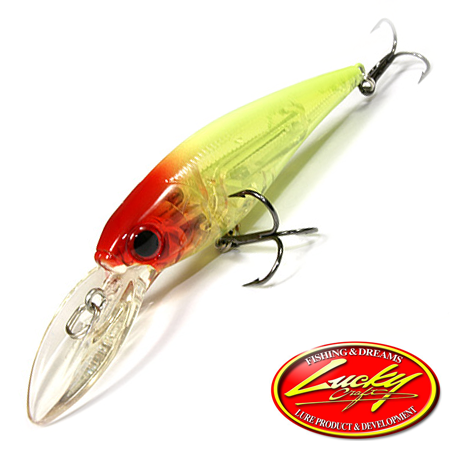 Воблер Lucky Craft Bevy Shad 75SP 10,0gr #5324 Crawn Lime 410