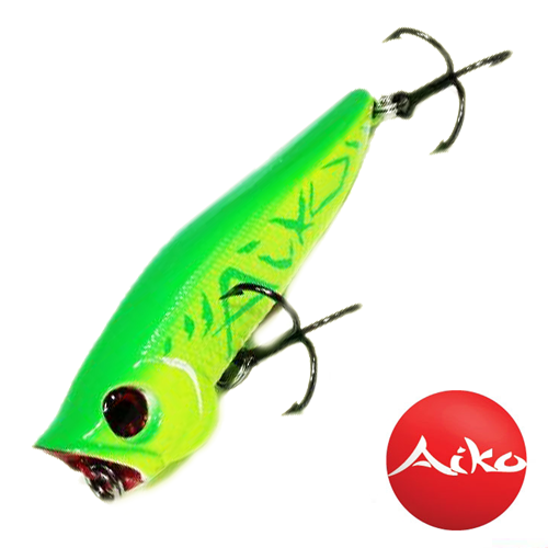 Воблер Aiko Champ Popper 70F 7,0gr #Aiko Green