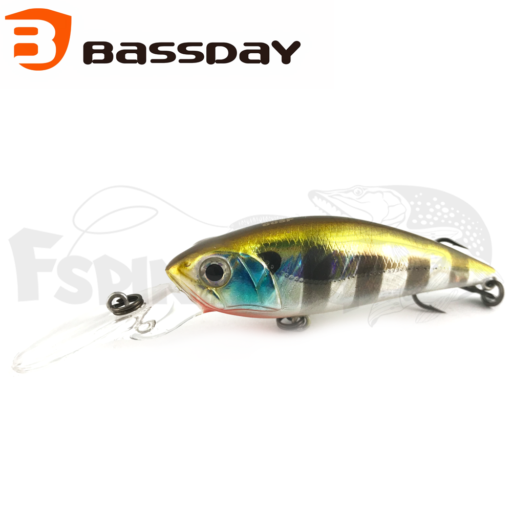 Mogul Shad 60SP Воблер Bassday Mogul Shad 60SP 7gr #SB-254 Blue Gill