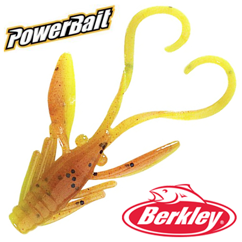 Мягкие приманки Berkley PowerBait Power Nymph 1'' #Pumpkin Chartreuse (12шт в уп)